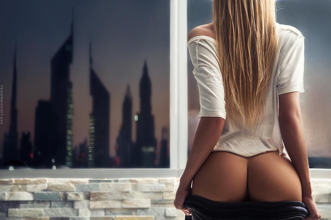 blone ass