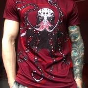 Red satori t-shirt image 2
