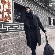 Black assassin hoodie image 2