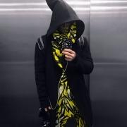 Tesla yellow assassin hoodie image 2