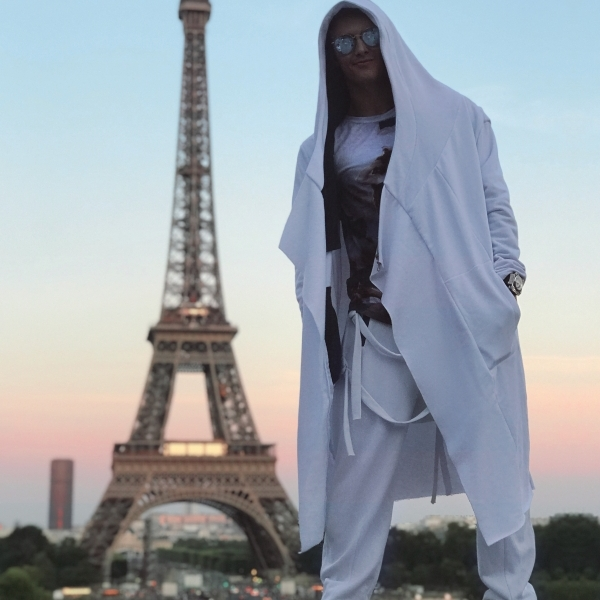 White assassin pants