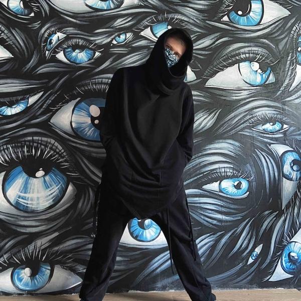 Black assassin hoodie